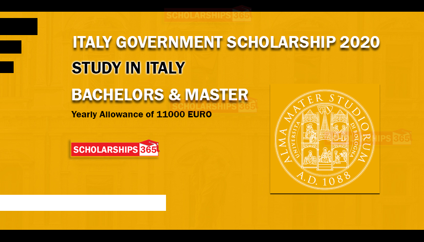 Italian Government Scholarship 2020 for International students - University of Bologna