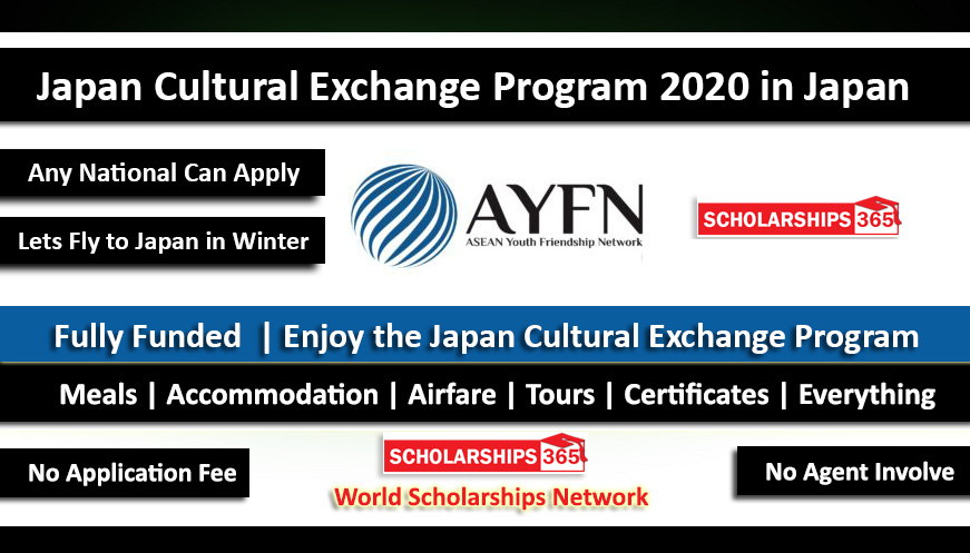 Japan Cultural Exchange Program 2020 in Winter - Fully Funded