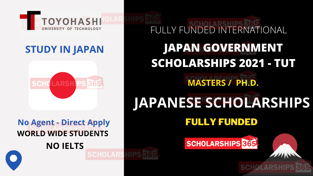 Japanese Government Scholarship 2021 MEXT Fully Funded - Toyohashi University of Technology