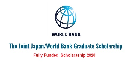 Joint Japan World Bank Scholarship 2020 - Fully Funded
