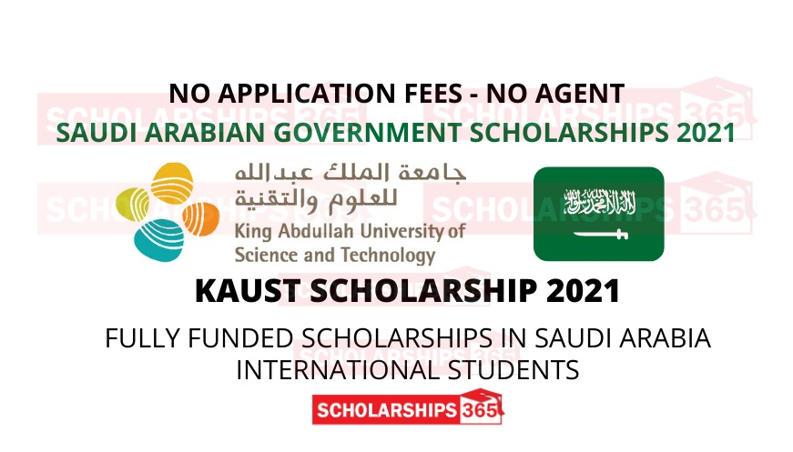 KAUST | King Abdullah University of Science and Technology Scholarship 2021 - Fully Funded