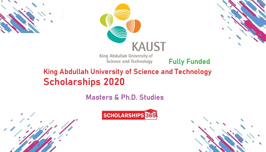 King Abdullah University of Science and Technology Scholarship 2020 - Fully Funded