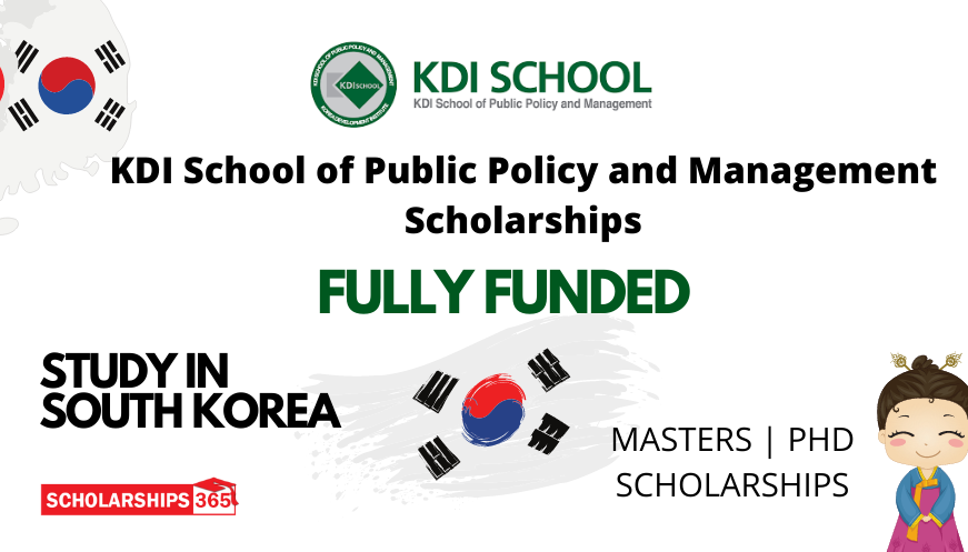 KDI School of Public Policy and Management Scholarships 2022 | Fully Funded