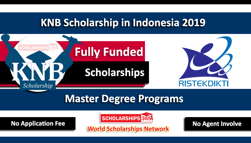 KNB Scholarships 2019 Indonesia for Master Studies - Fully Funded Indonesian Government