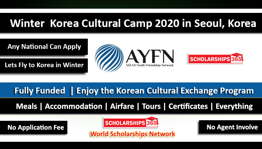 Winter Korea Cultural Experience Camp 2020 in Seoul, South Korea - Fully Funded