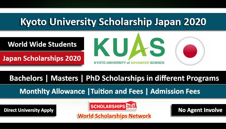 Kyoto University of Advance Sciences Scholarship Japan 2020 For BS, MS, PhD
