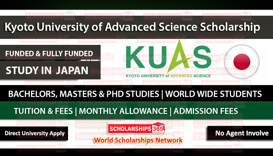 Kyoto University of Advanced Science (KUAS) Scholarship in Japan 2021 - Fully Funded