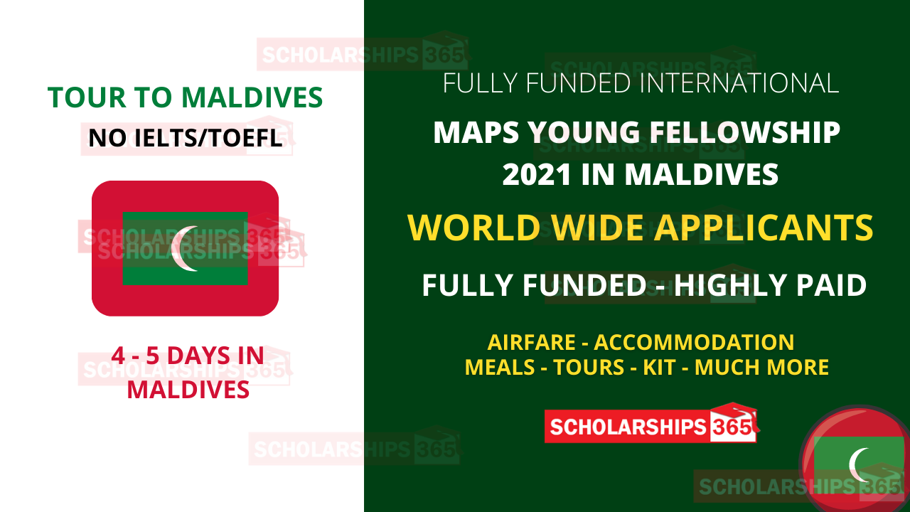 MAPS Young Professional Fellowship 2021 in Maldives (Fully Funded)