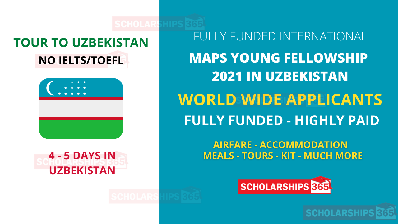MAPS Young Professional Fellowship 2021 in Uzbekistan (Fully Funded)