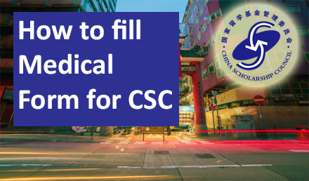 How to fill Physical Examination Form For CSC 2019-2020 - Undergraduate Scholarships 2020-2021