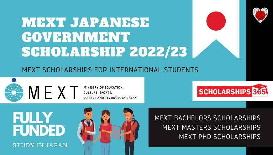 MEXT Japanese Government Scholarship 2022/2023 - Fully Funded