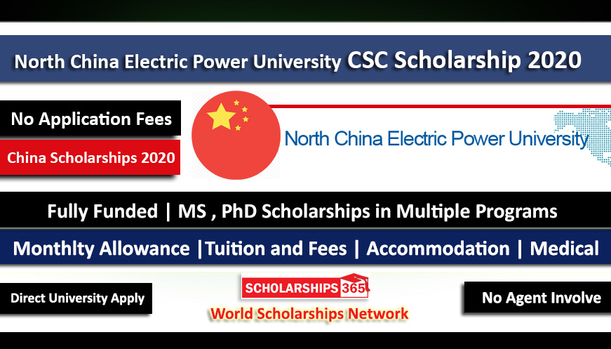 North China Electric Power University CSC Scholarship 2020 - Fully Funded