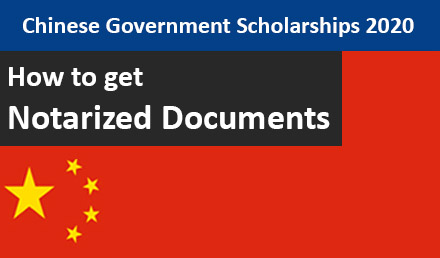 How to Notarized Documents for CSC Scholarships 2020 Process - Undergraduate Scholarships 2020-2021