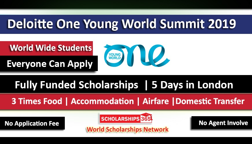 One Young World Summit 2019  Scholarship In London UK Fully Funded