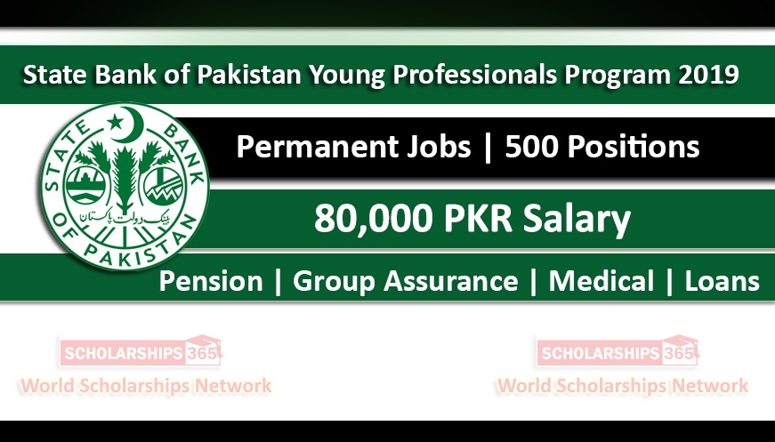 State Bank of Pakistan Young Professionals Induction Program (YPIP) 2019