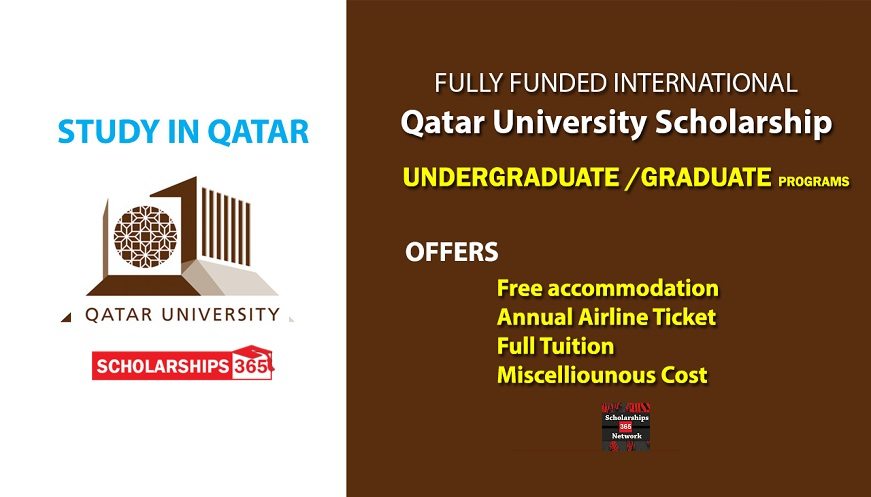 Qatar University Scholarship 2020 - Fully Funded for ...
