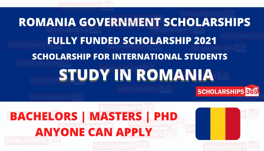 Romania Government Scholarship 2021 Fully Funded - Study in Romania
