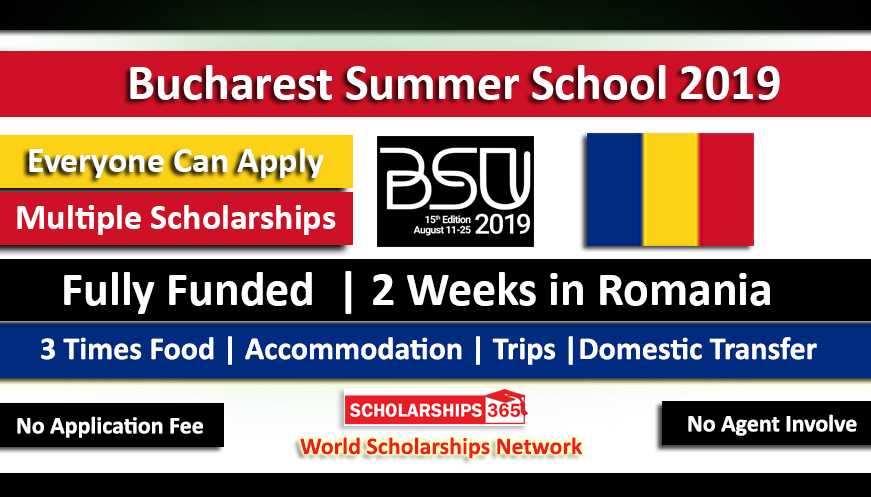 Bucharest Summer University Summer School 2019 Fully Funded in Romania