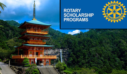 Rotary Yoneyama Scholarship 2019 in Japan