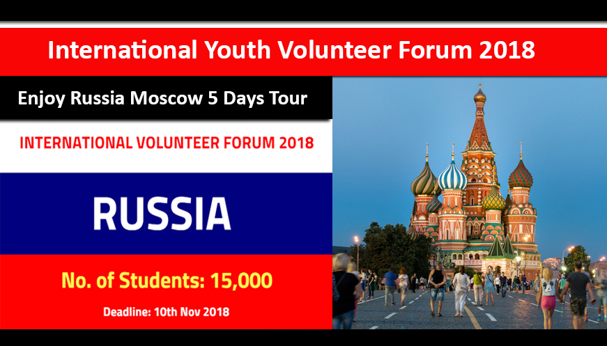 International Volunteer Forum Russia 2018-19 Funded