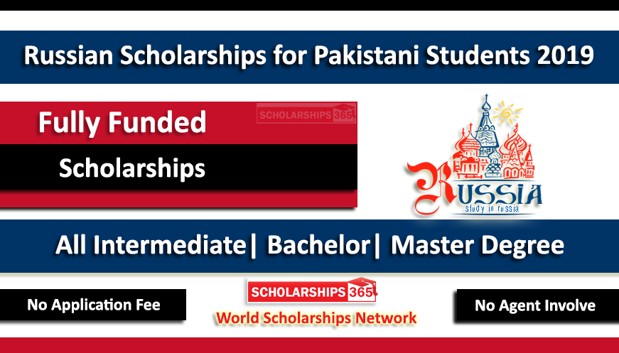 Russian Scholarships for Pakistani Students 2019 Funded