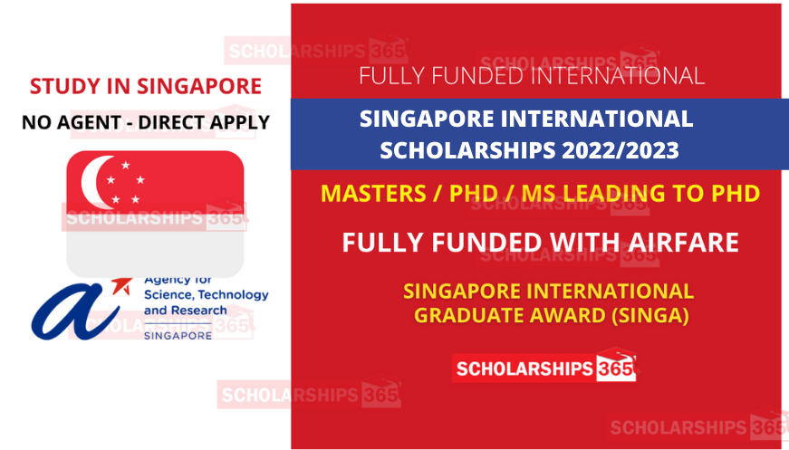 Singapore Government Scholarship 2022 for International Student in Singapore