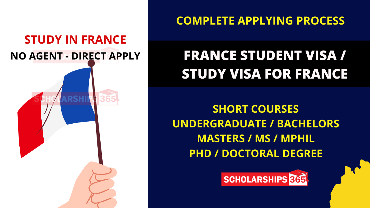 How to get a student Visa for France - Study in France