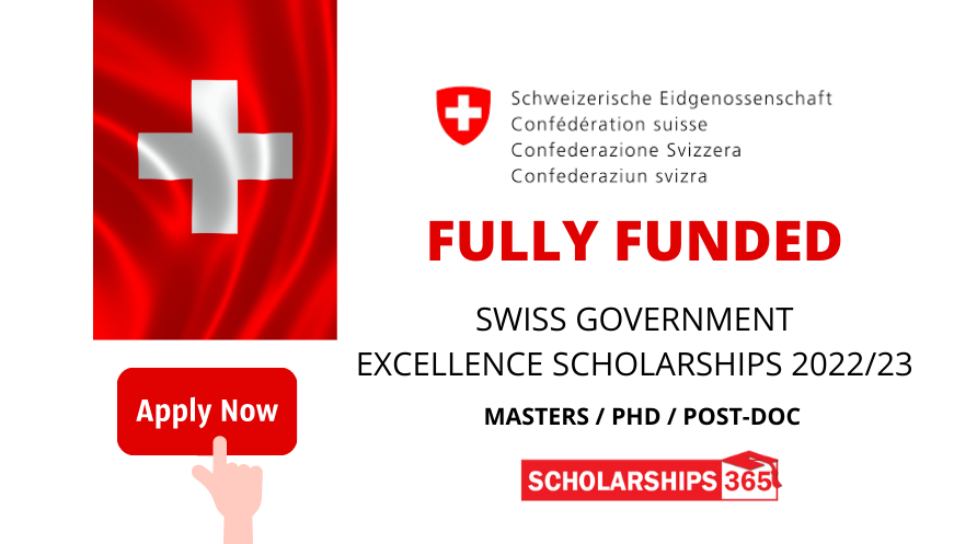 Swiss Government Excellence Scholarships 2022 | Fully Funded