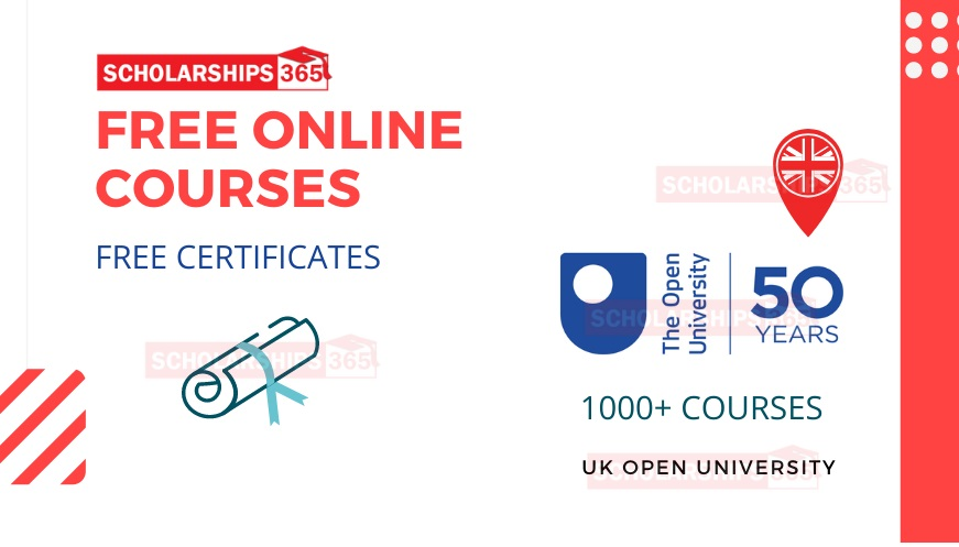 UK Open University Free Online Courses - Free Certificates - 1000+ Courses