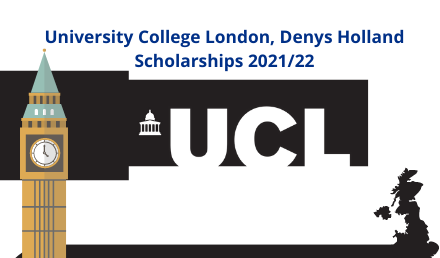 Denys Holland Scholarships 2021 - University College London - Undergraduate Scholarships 2020-2021