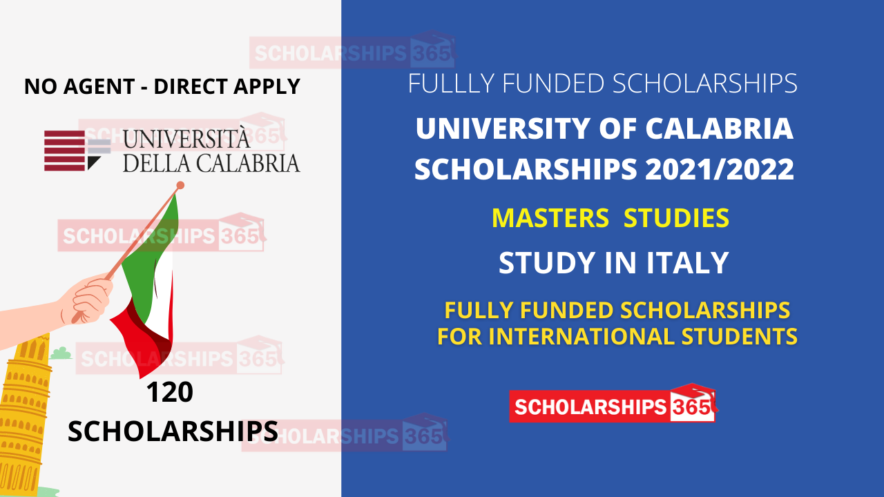 University of Calabria Scholarships 2021-22 in Italy - Free Study in Italy