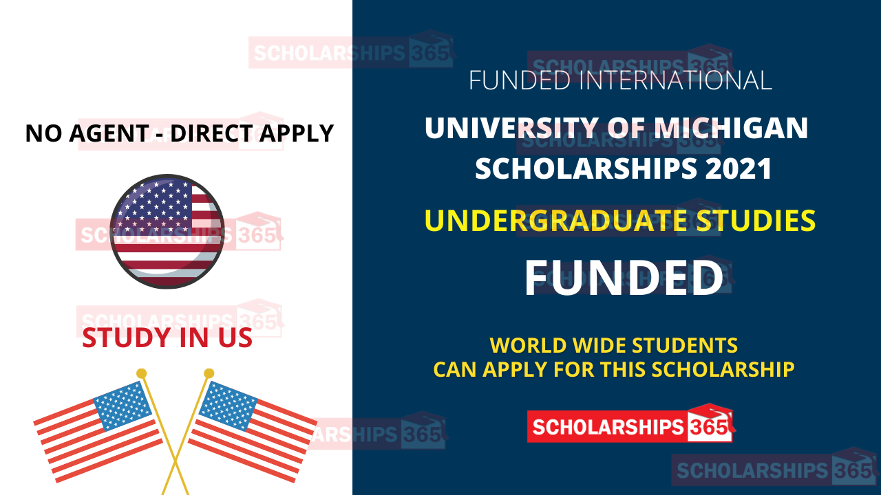 University of Michigan Scholarships for International Students in US 2021-2022