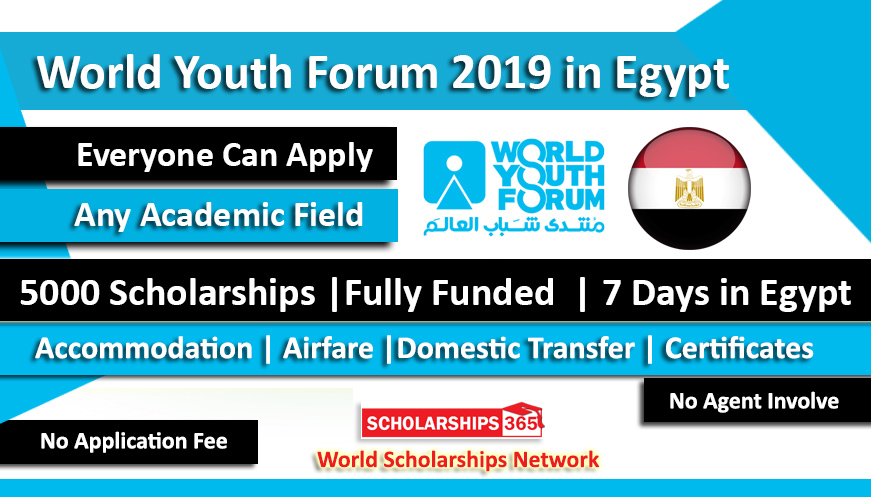 World Youth Forum 2019 in Sharm El Sheikh, Egypt - Fully Funded
