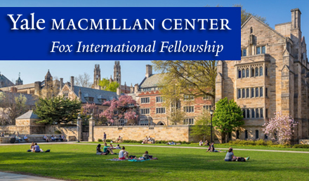 Yale Fox International Fellowship 2019 Fully Funded - Fellowship
