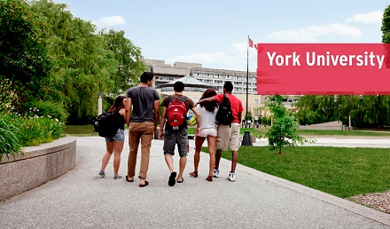 York University, Canada - International Scholarship 2020-21