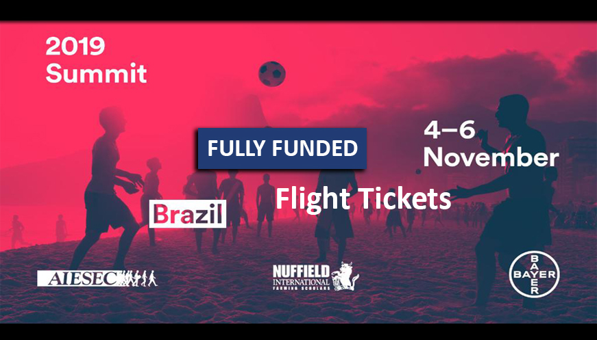 The Youth Ag Summit Brazil Fully Funded 2019 in Brazil
