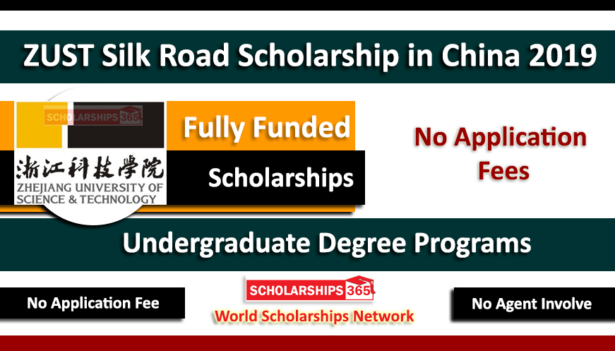ZUST Silk Road Scholarships 2019 for Undergraduate Studies Fully Funded